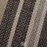 Denver cuscino arredo rigato in colori neutri beige, panna, tortora