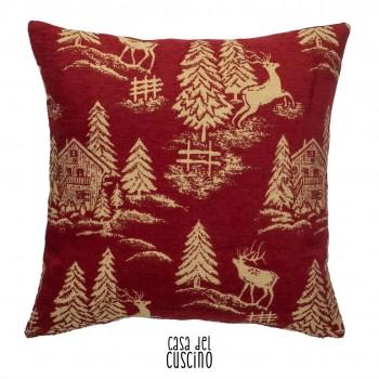 Albergian, cuscino rosso...
