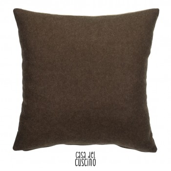 Portland cuscino doubleface marrone e beige