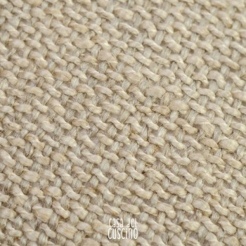 Sahara cuscino arredo in puro lino beige
