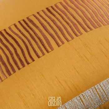 Zucca cuscino decorativo arancio