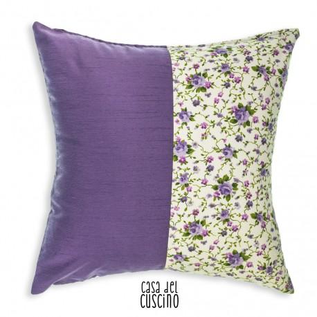 Lilla cuscino arredo fiori lilla