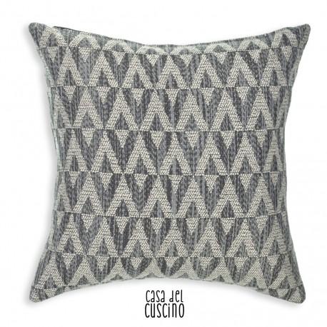 Antares cuscino arredo moderno con motivo geometrico wavy