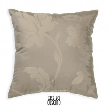 Anemone cuscino arredo beige ramage